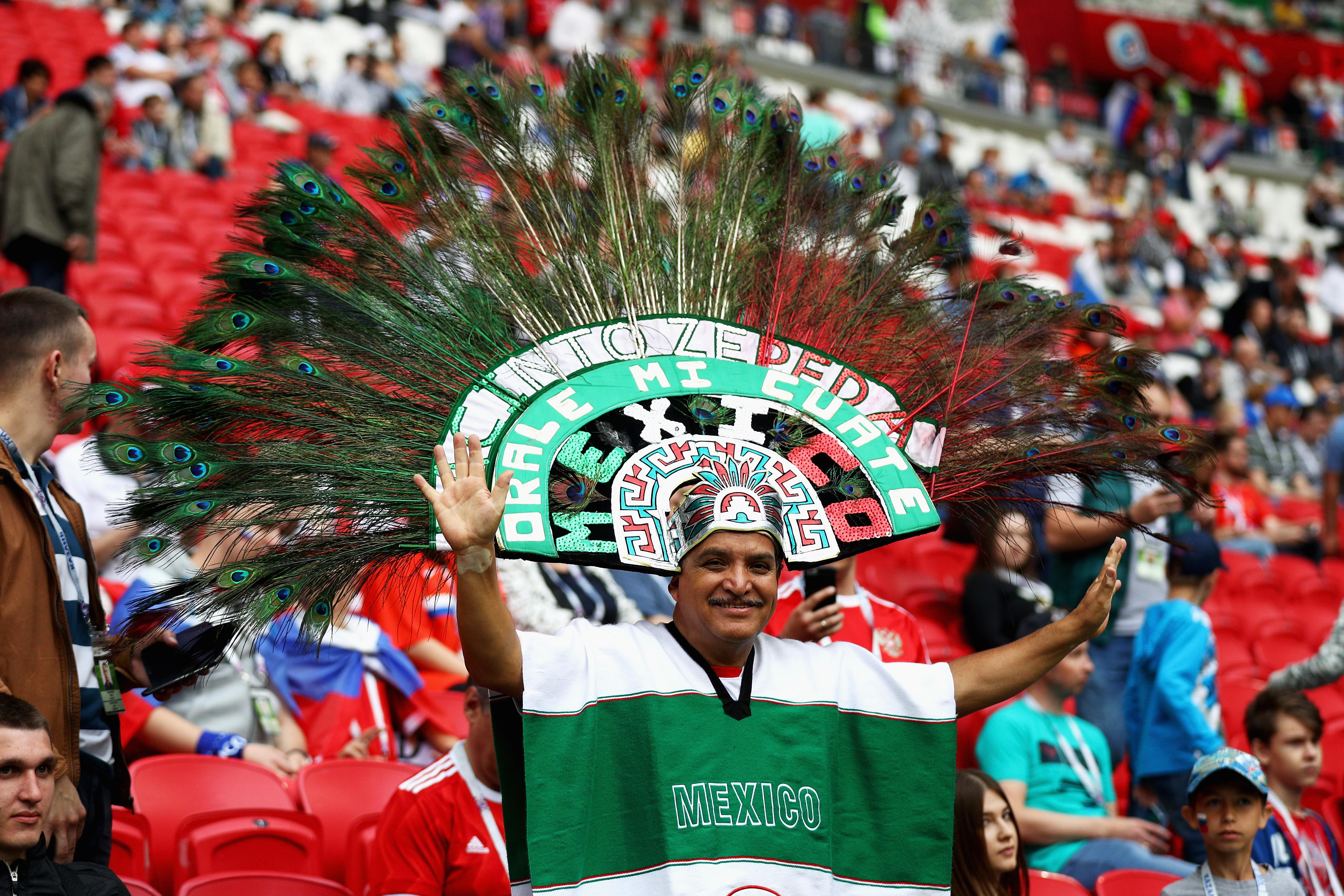 Mexican Fan Tells Wife Hes Going To Get Cigarettes Flies