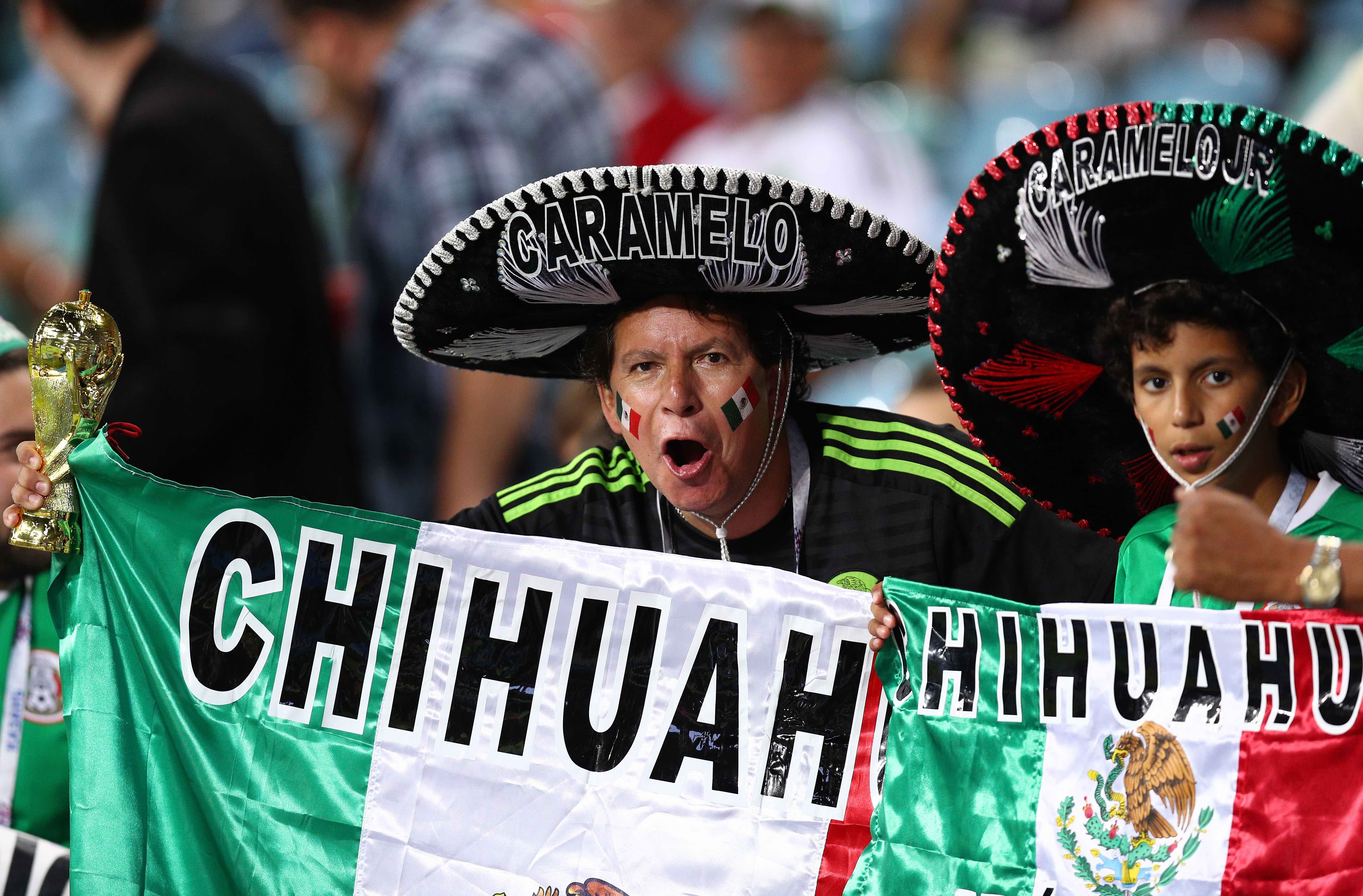 "FIFA Undercover Agents Ejected Two Mexican Fans From a Match Due to ""Puto"" Chant"