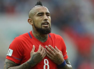 "Arturo Vidal Throws Shade at Cristiano Ronaldo Before Confed Cup Semis: ""For Me, He Does Not Exist."""
