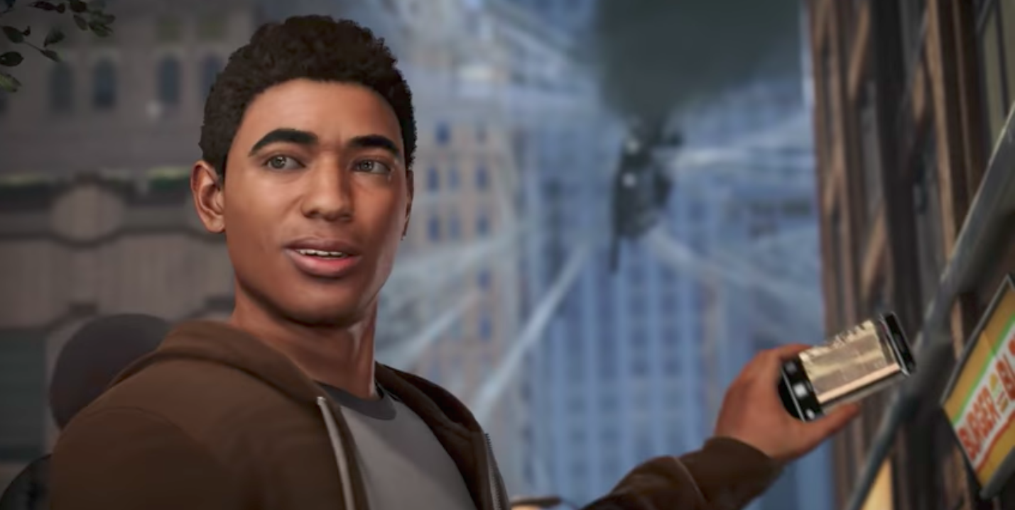 Miles Morales Popped Up In This 'Spider-Man' Video Game & People Are So Hyped