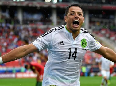 Chicharito Dyed His Hair Bleach Blonde and the Super Saiyan Jokes Are Rolling In