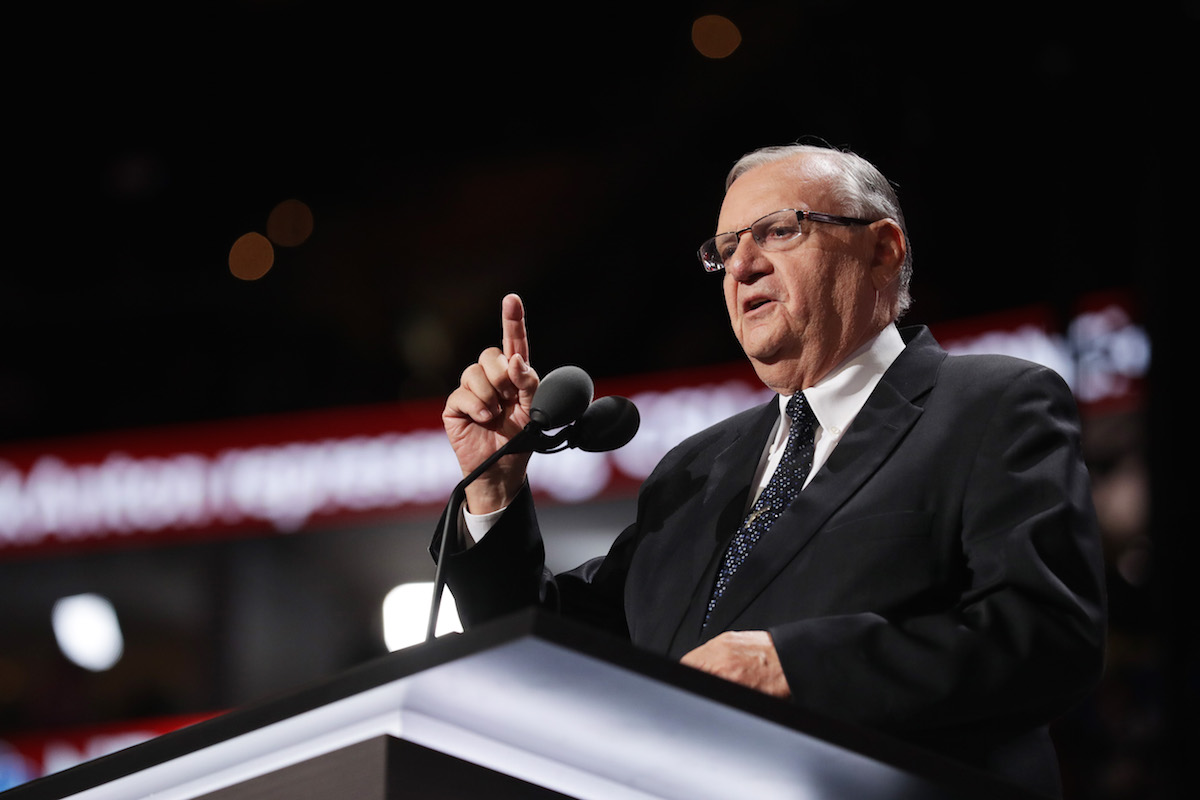 Sacha Baron Cohen Tricked Joe Arpaio Into Saying He'd Accept Blow Job From Trump