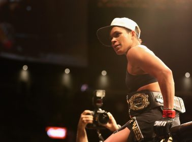 Amanda Nunes' Mother Flew to the US For the First Time to See Her Fight at UFC213
