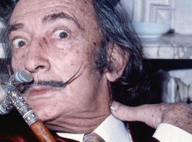 Dalí's Remains Were Exhumed 28 Years After His Death & His Mustache Is Still Perfectly Styled
