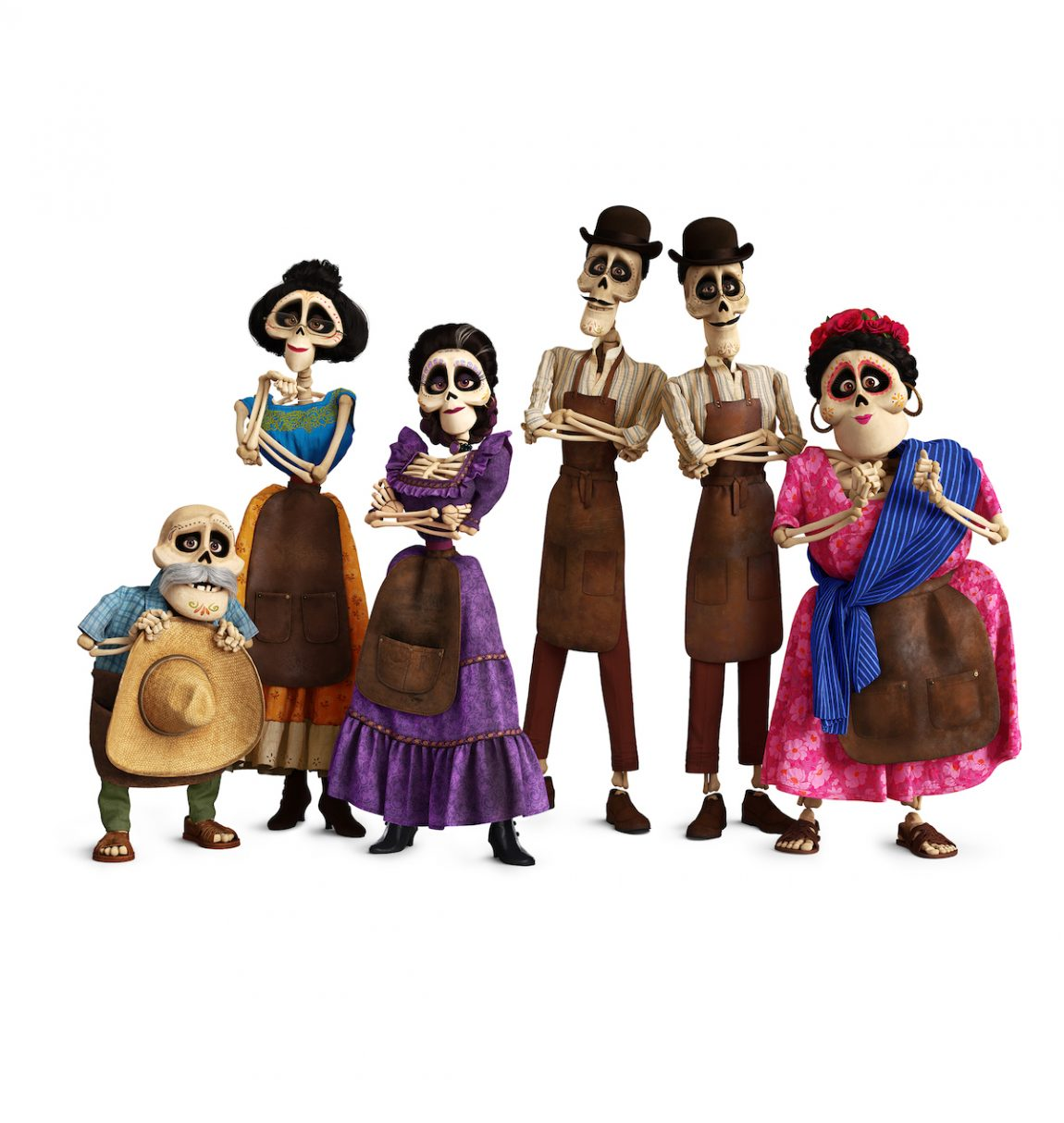 In DisneyoPixars Coco Several Members Of The Rivera Family Call Land Dead Home Courtesy Pixar