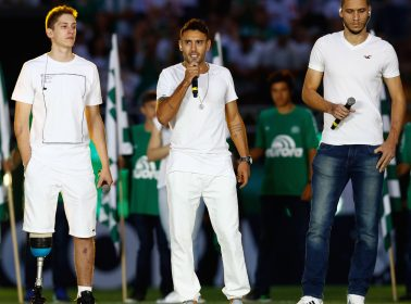 One of Three Surviving Players from Chapecoense Plane Crash Will Play Against Barcelona