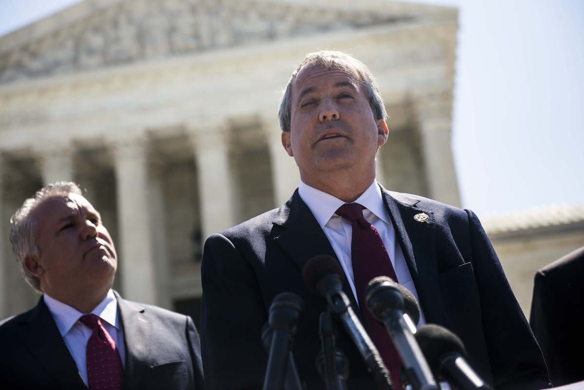 Once Again, Texas AG Ken Paxton Is Accused of Suppressing the Latino Vote