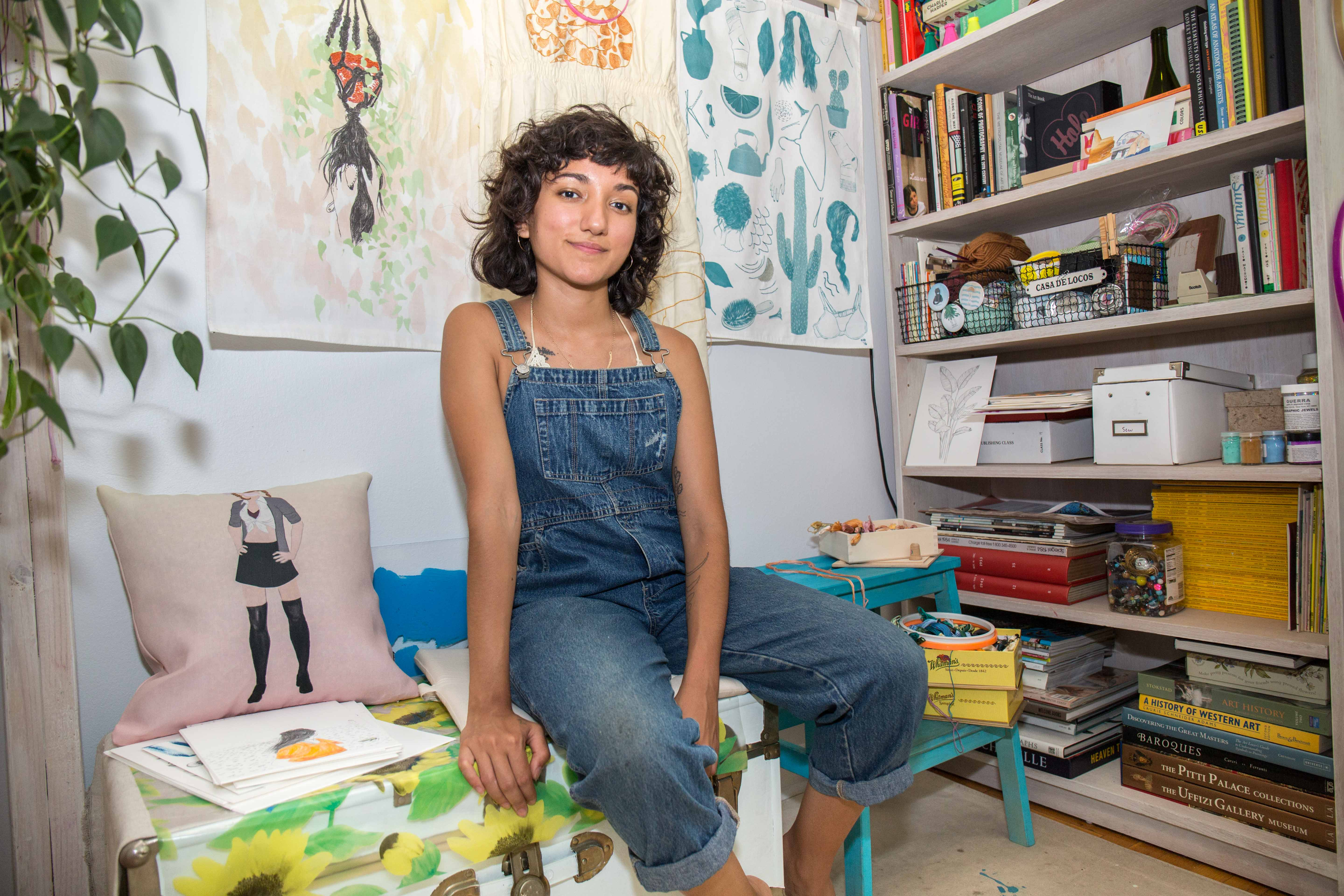 With Her TLC & Britney Spears Prints, This Bronx-Based Artist Will Make You Long for the 2000s
