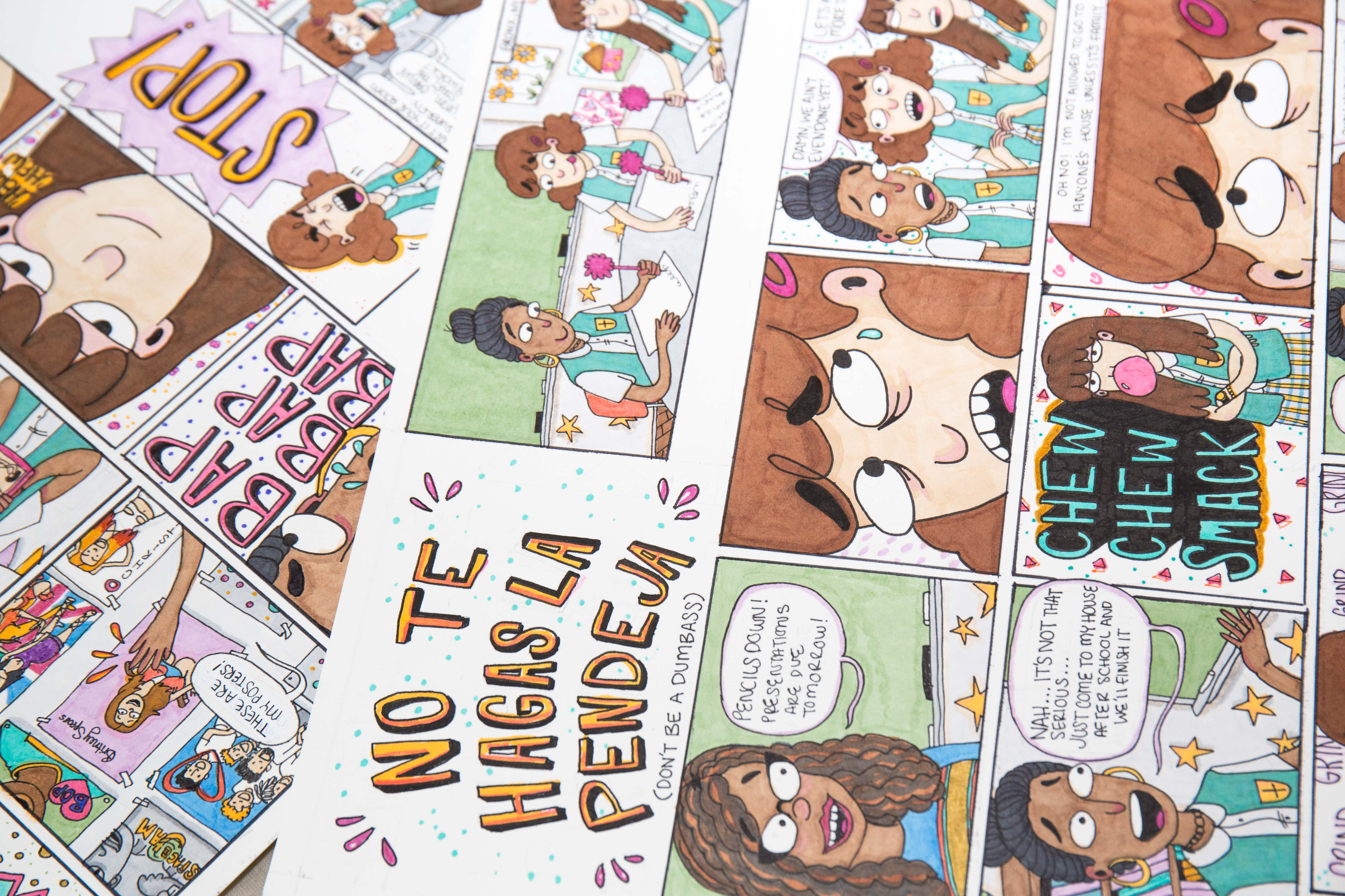 Stephanie Rodriguez Takes on Slut Shaming, Anxiety & Heartbreak in Her Super Relatable Comics
