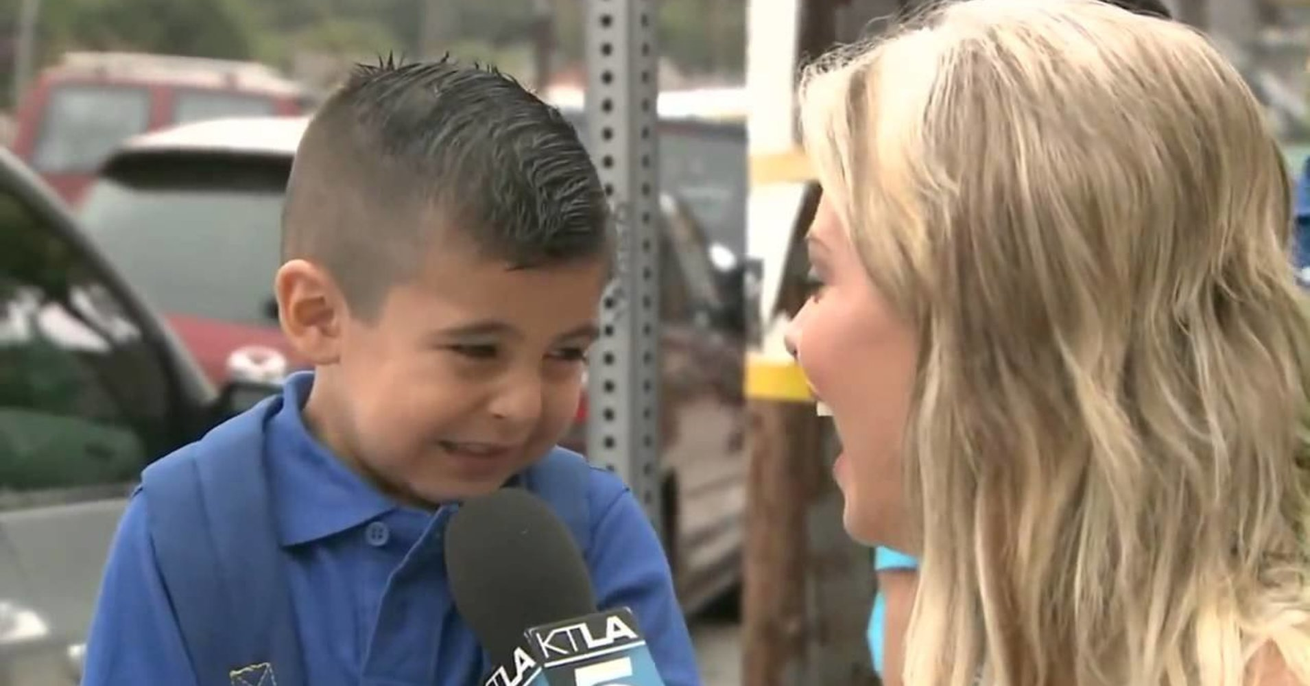 Kid Who Became a Meme After Crying on First Day of School Is a Big Boy Now, Will Still Miss His Mom