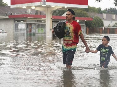 Trump Ignored Hurricane Harvey to Tweet About the Wall. Meanwhile, Mexico Offered Texans Help