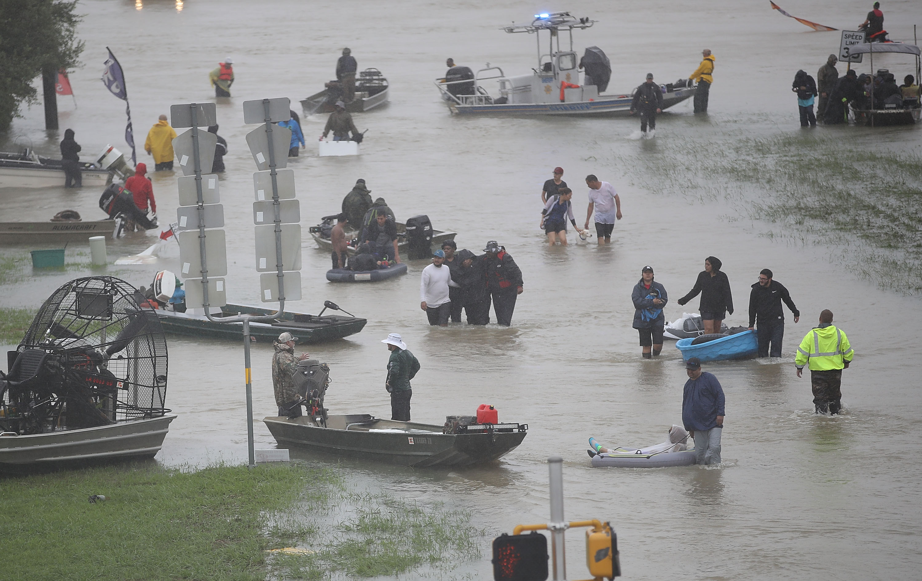 By Ending DACA, Trump Demonizes Recipients Like the Tejanos Who Risked Their Lives During Harvey