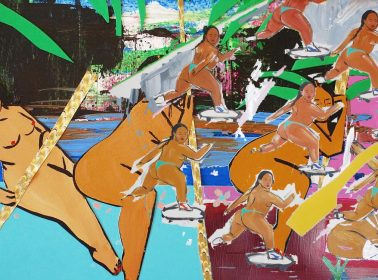 Meet Monica Kim Garza, the Mexican-Korean Artist Painting Carefree Brown and Round Women