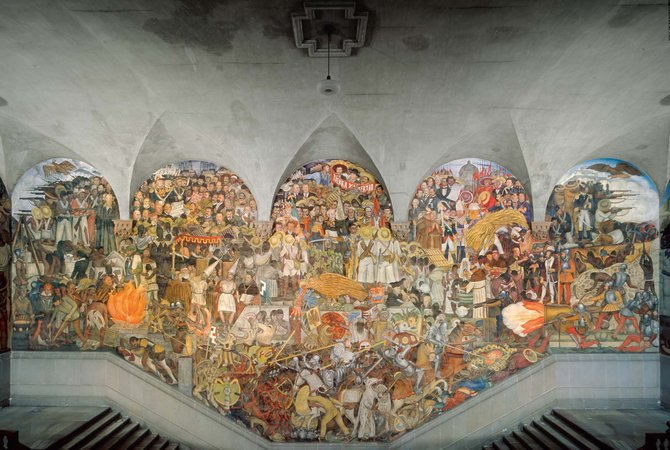 Remembering anita brenner the woman who helped make for Diego rivera mural 1929