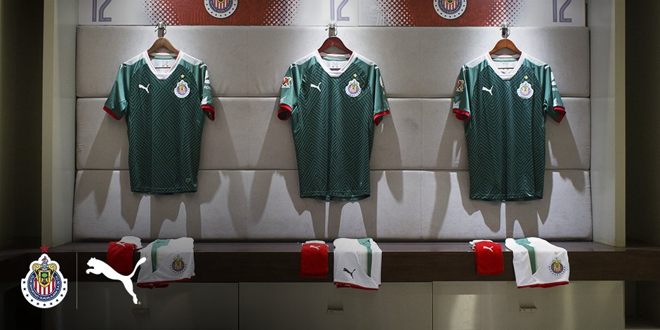 timeless design e0caa de2f8 Chivas' New 3rd Kits Look a Lot Like El Tri's, and They Are ...
