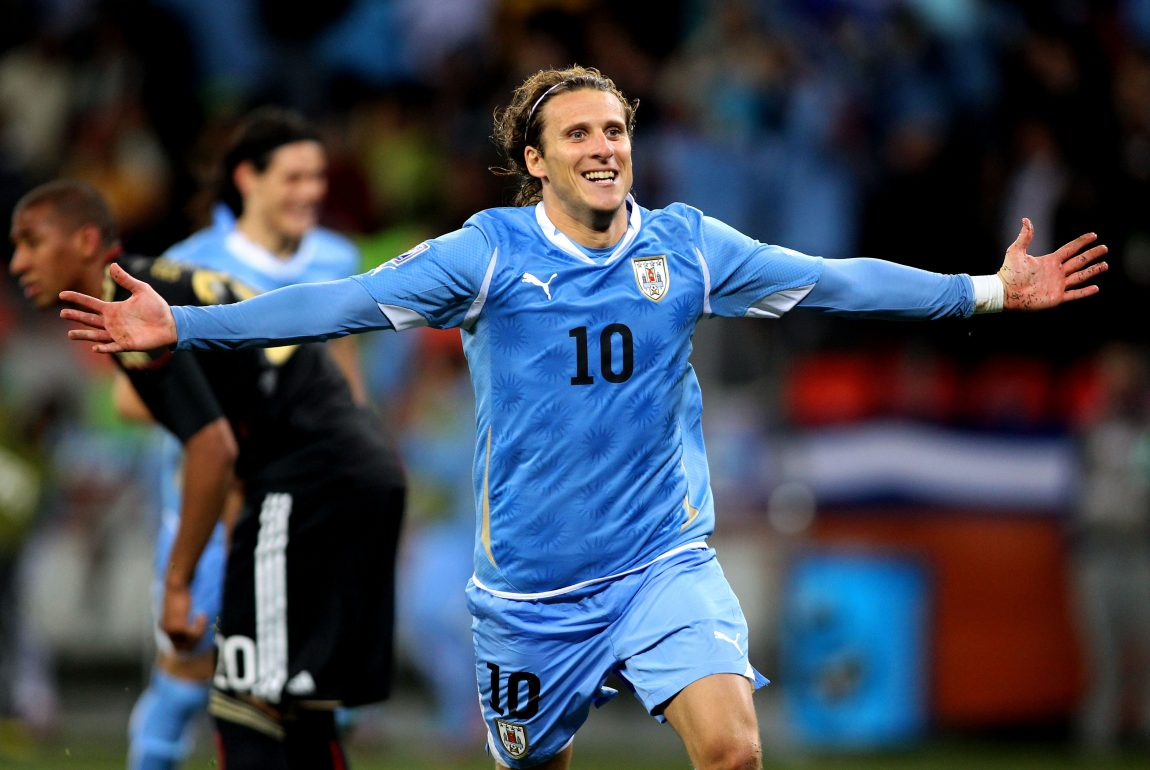 Uruguay Legend Diego Forlan Is Really Out Here Calling Dani Alves