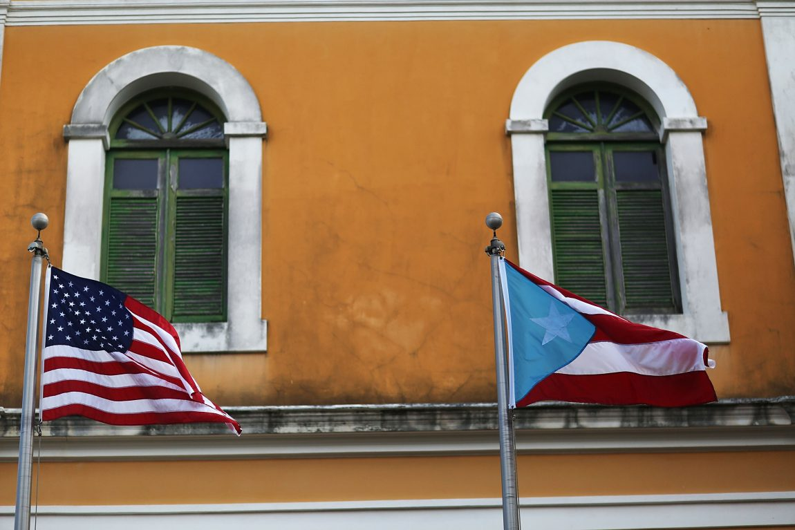 As Puerto Rico reels, lucky few get flights to the mainland