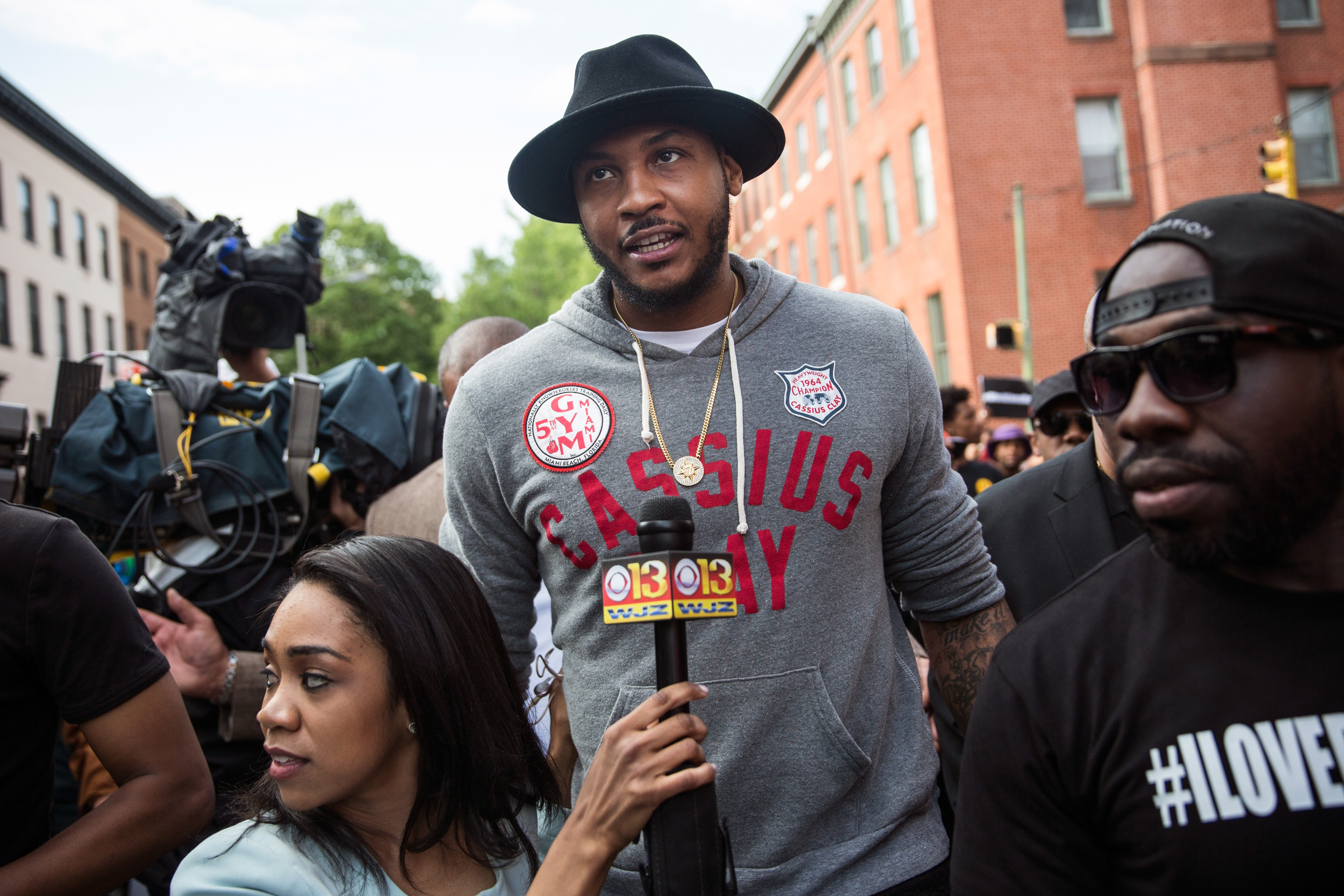 After Melo Trade, NYC Loses Both a Basketball Superstar and a High-Profile Community Leader