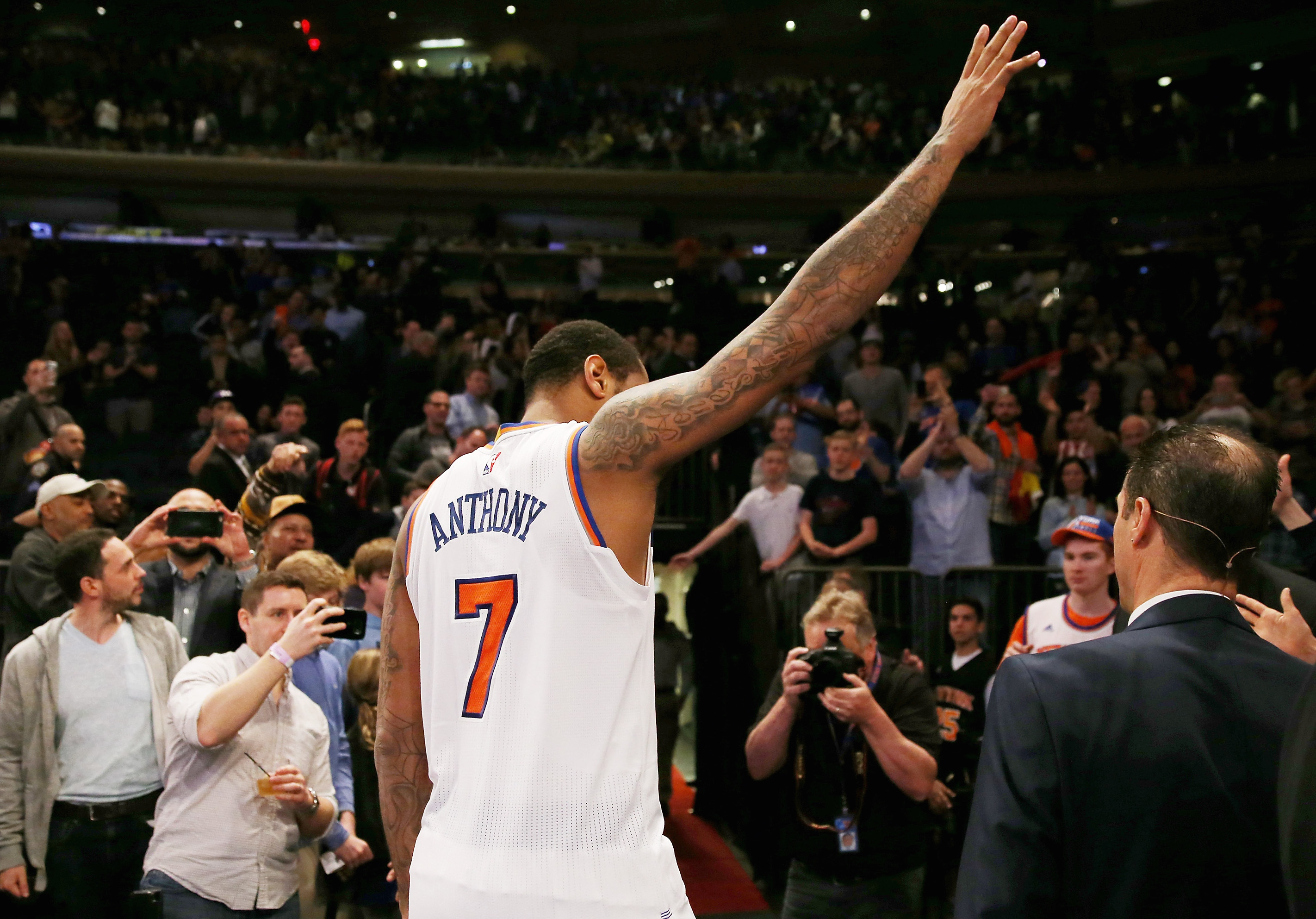 Despite Leaving the Knicks on Bad Terms, Melo Penned a Touching Love Letter to NYC On His Way Out
