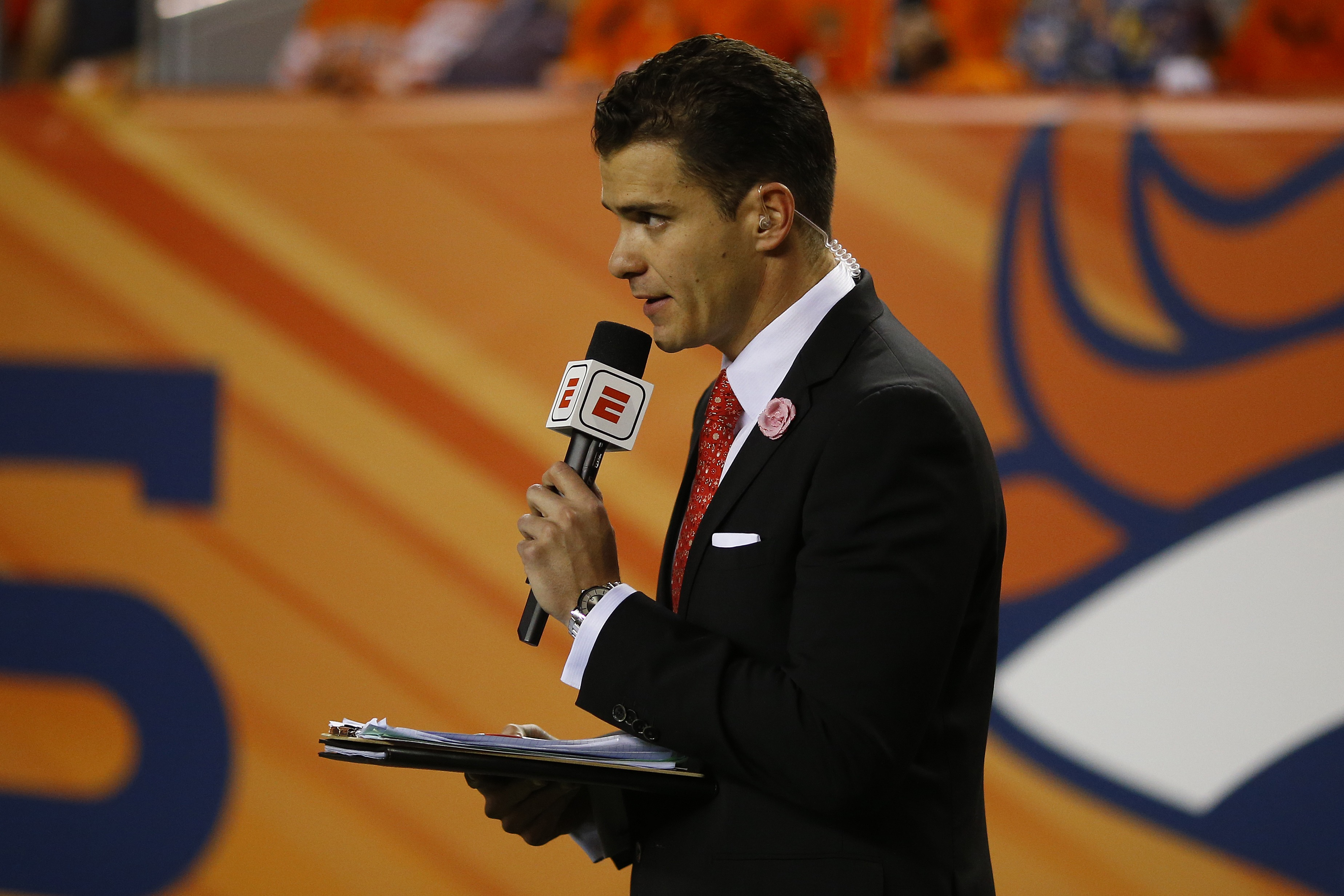 After Getting Roasted For an Awkward Sideline Report, ESPN's Sergio Dipp Handles New Fame With Grace
