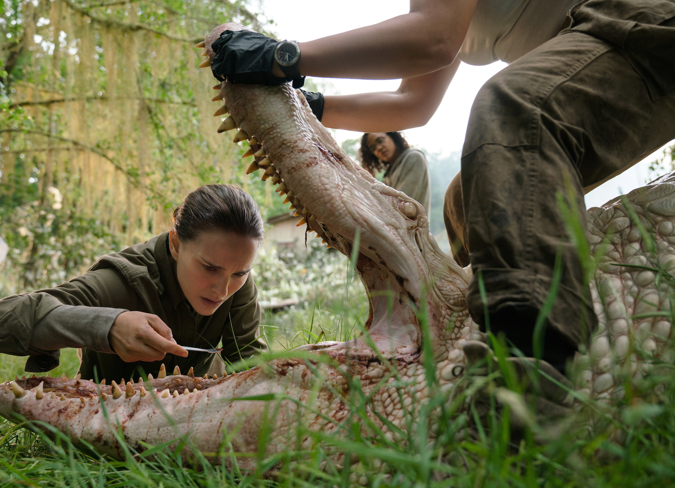 Gina Rodriguez & Tessa Thompson Are on a Mission to Rescue Oscar Isaac in Eerie 'Annihilation' Trailer