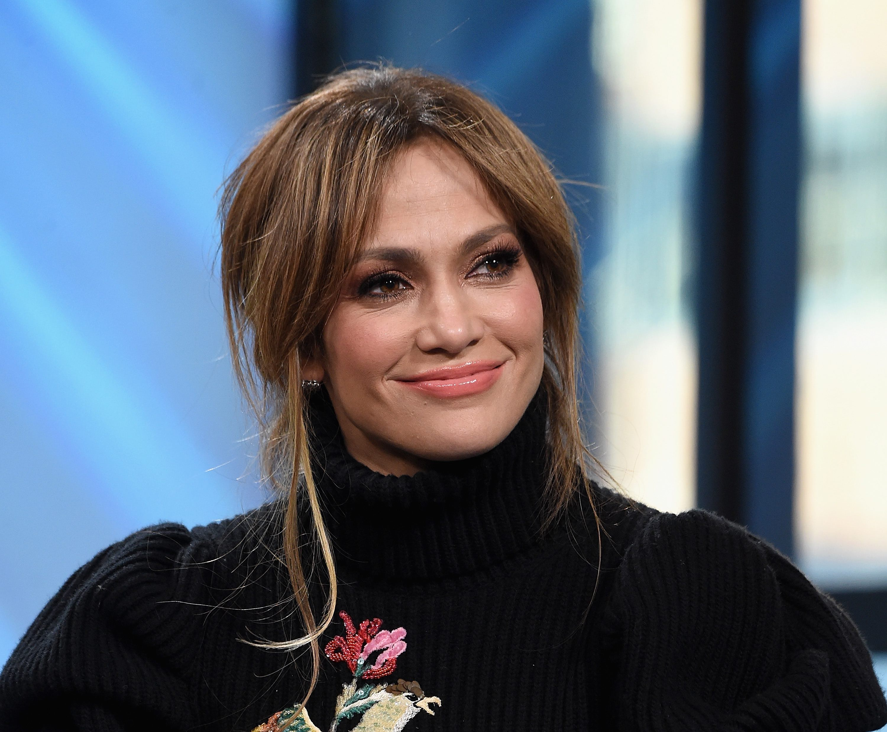 J Lo's Wild Versace Denim Boots Made Her Look Like Her Pants Were Around Her Ankles