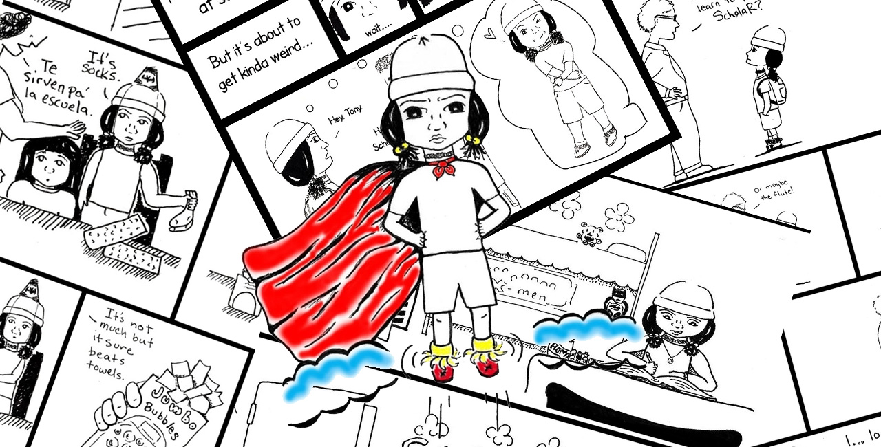 Vicko Alvarez Vega's ScholaR Comic Books Tell the Story of a Nerdy Chola Navigating Girlhood