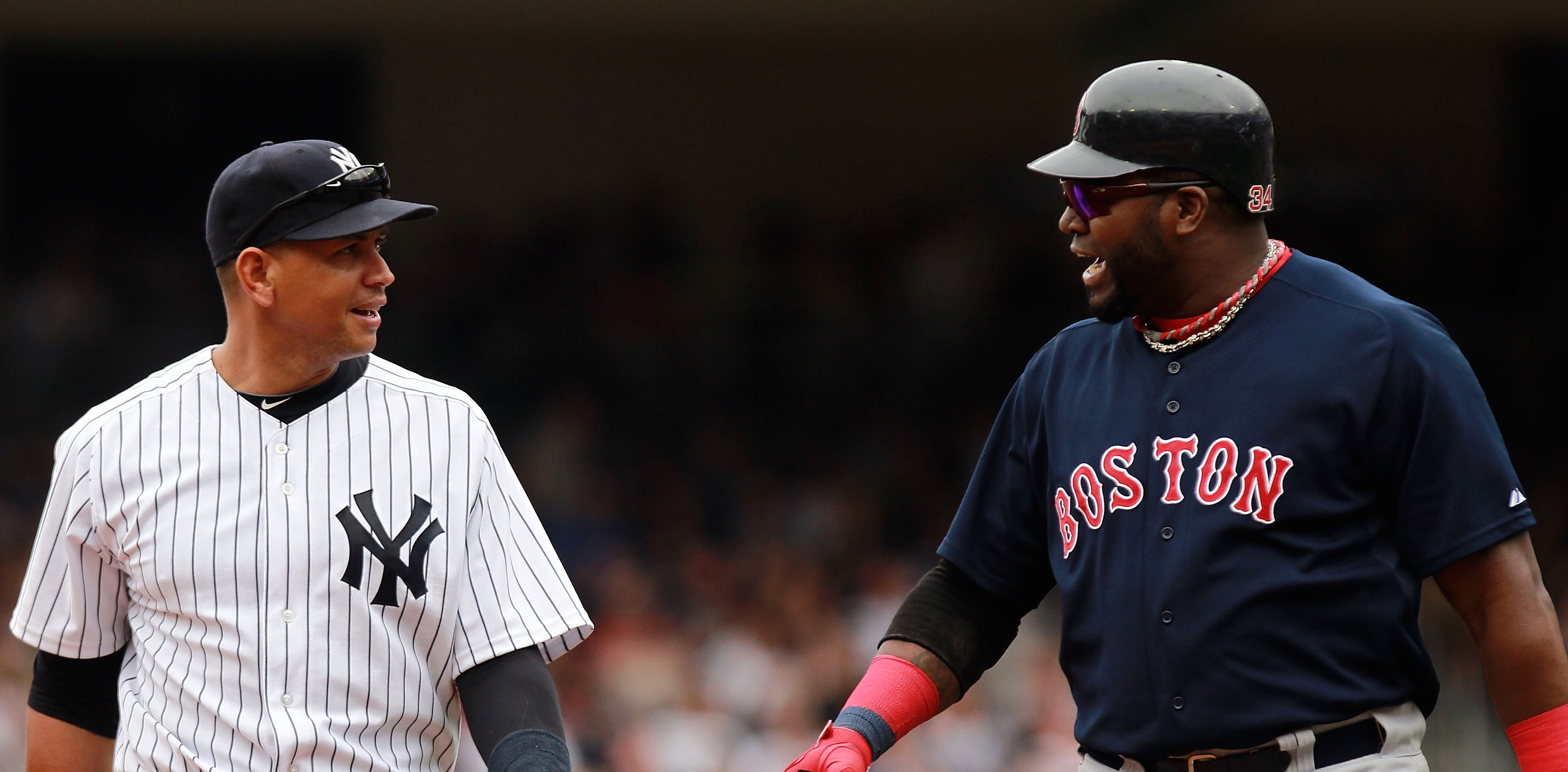 A-Rod and Big Papi Keep Clowning Each Other During the MLB Playoffs, and It's Glorious