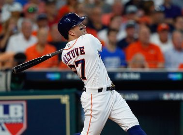 José Altuve Is Already Setting the MLB Playoffs On Fire