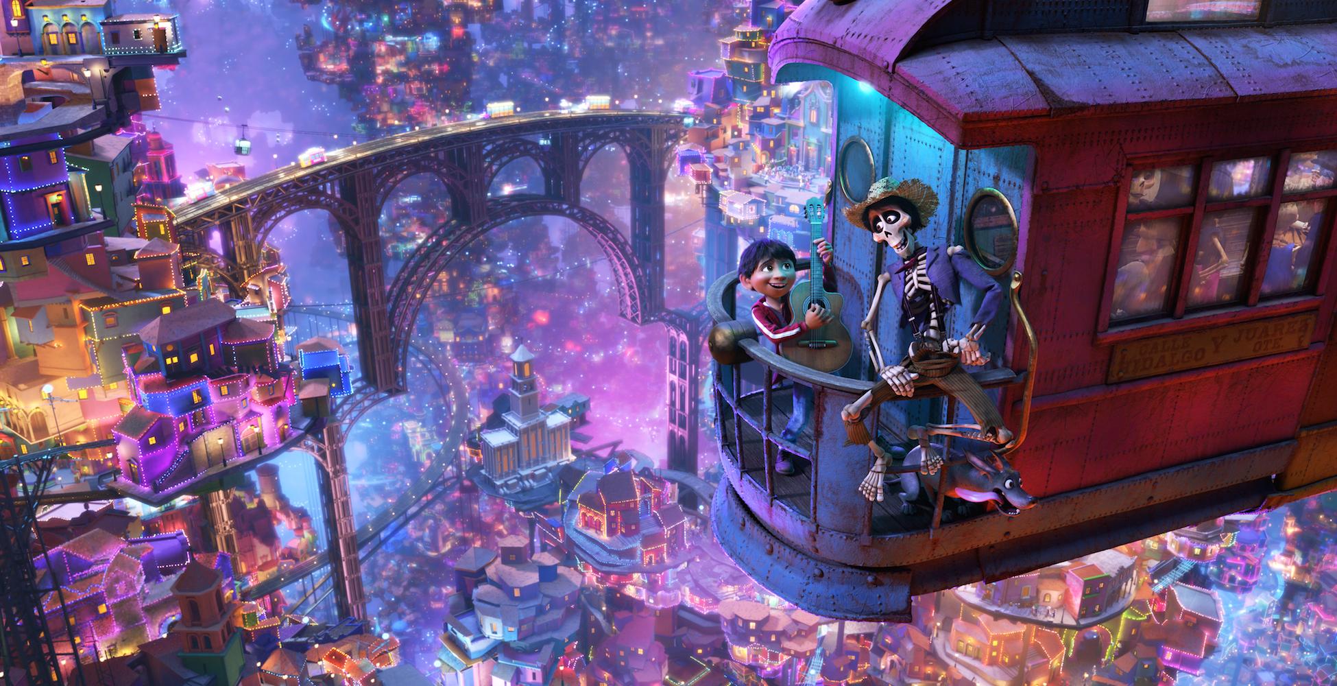 How Pixar's Animators Brought Gael Garcia Bernal's Skeleton Character to Life in 'Coco'