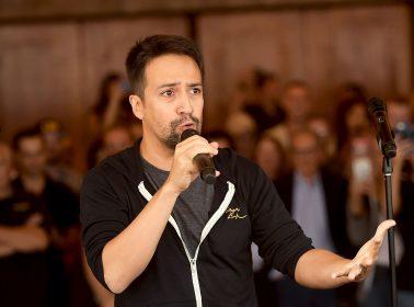 Lin-Manuel Miranda to Make Directorial Debut With Film Adaptation of a Musical