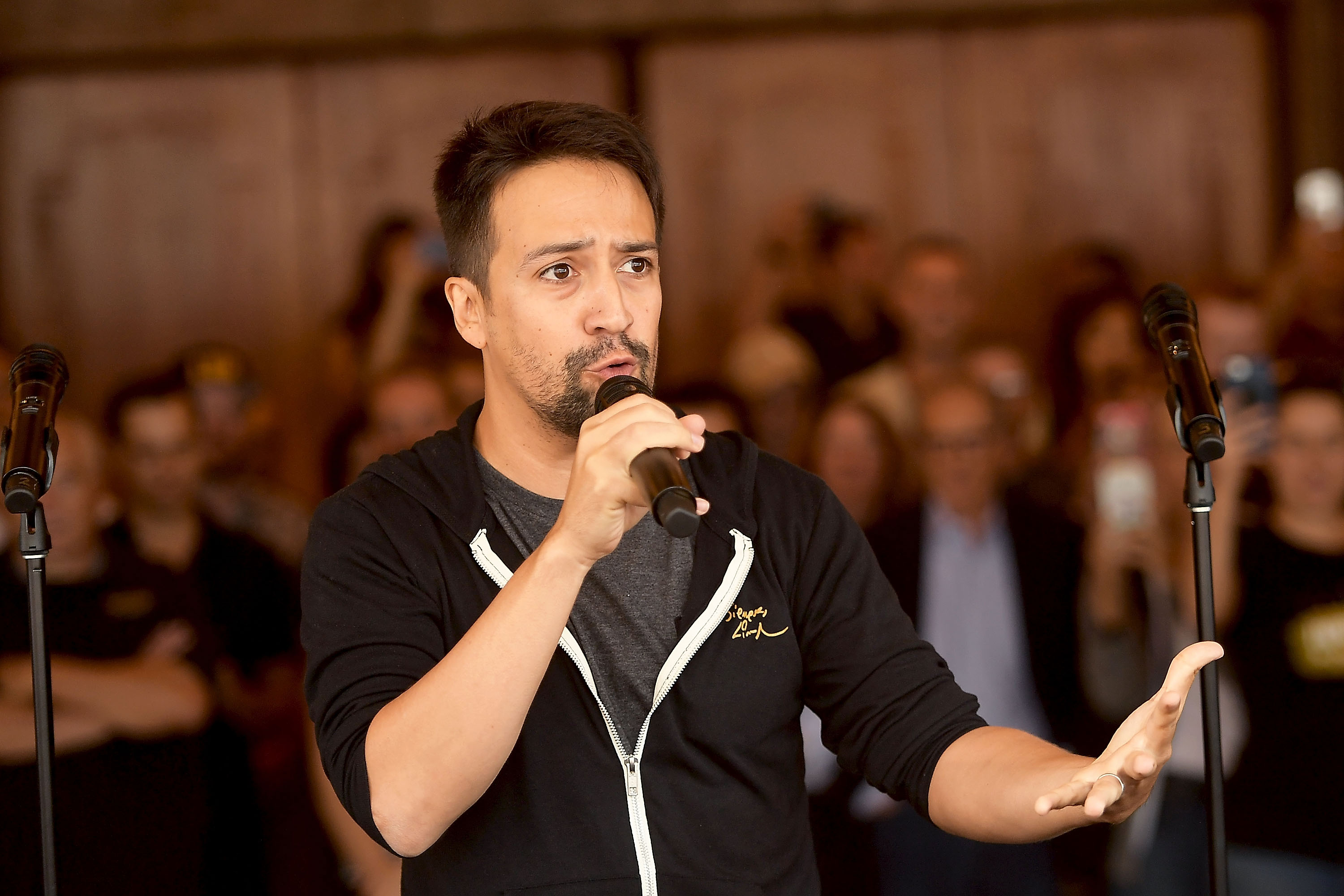 """Lin-Manuel Miranda on 'In the Heights' Movie: """"I want this neighborhood to recognize themselves"""""""