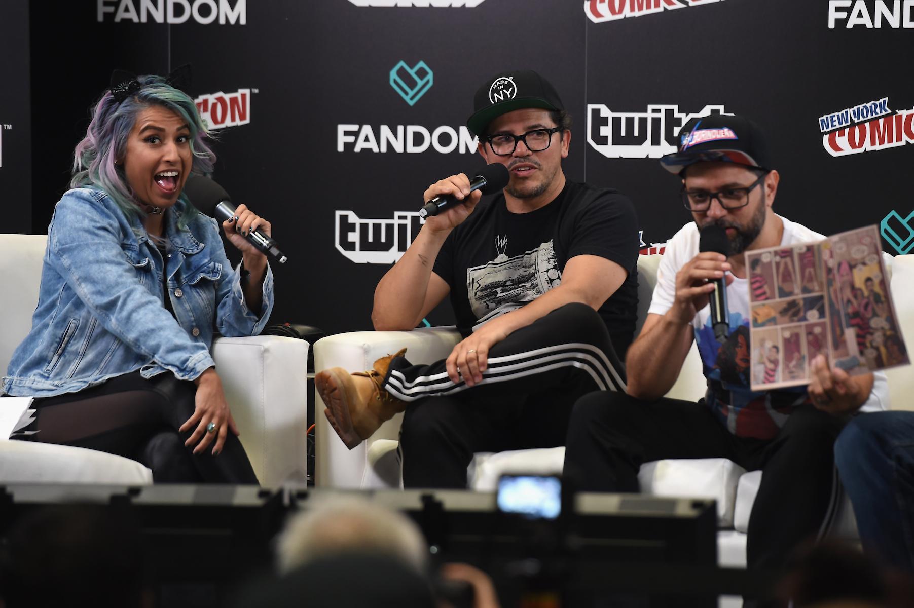 Edgardo Miranda-Rodriguez Turned John Leguizamo's One-Man Show 'Freak' Into a Comic Book