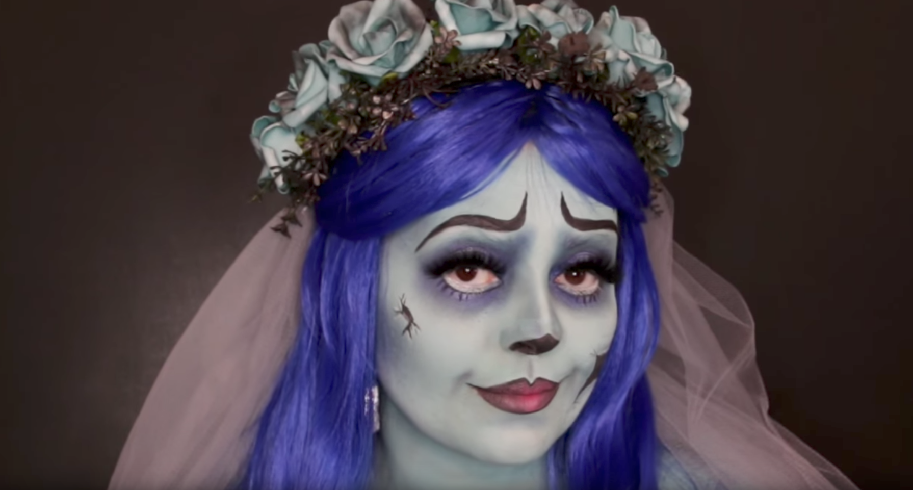 Freak Out All Your Friends With These Latino Vloggers' Scary Halloween Makeup Looks