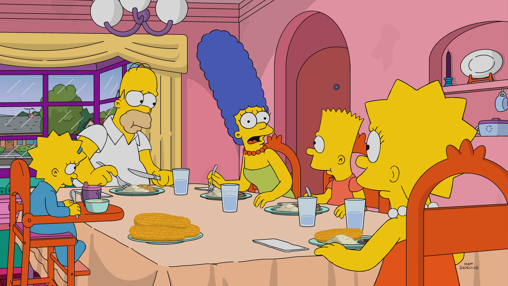 'The Simpsons' Season Premiere Has Better Messaging on Puerto Rico Than Trump