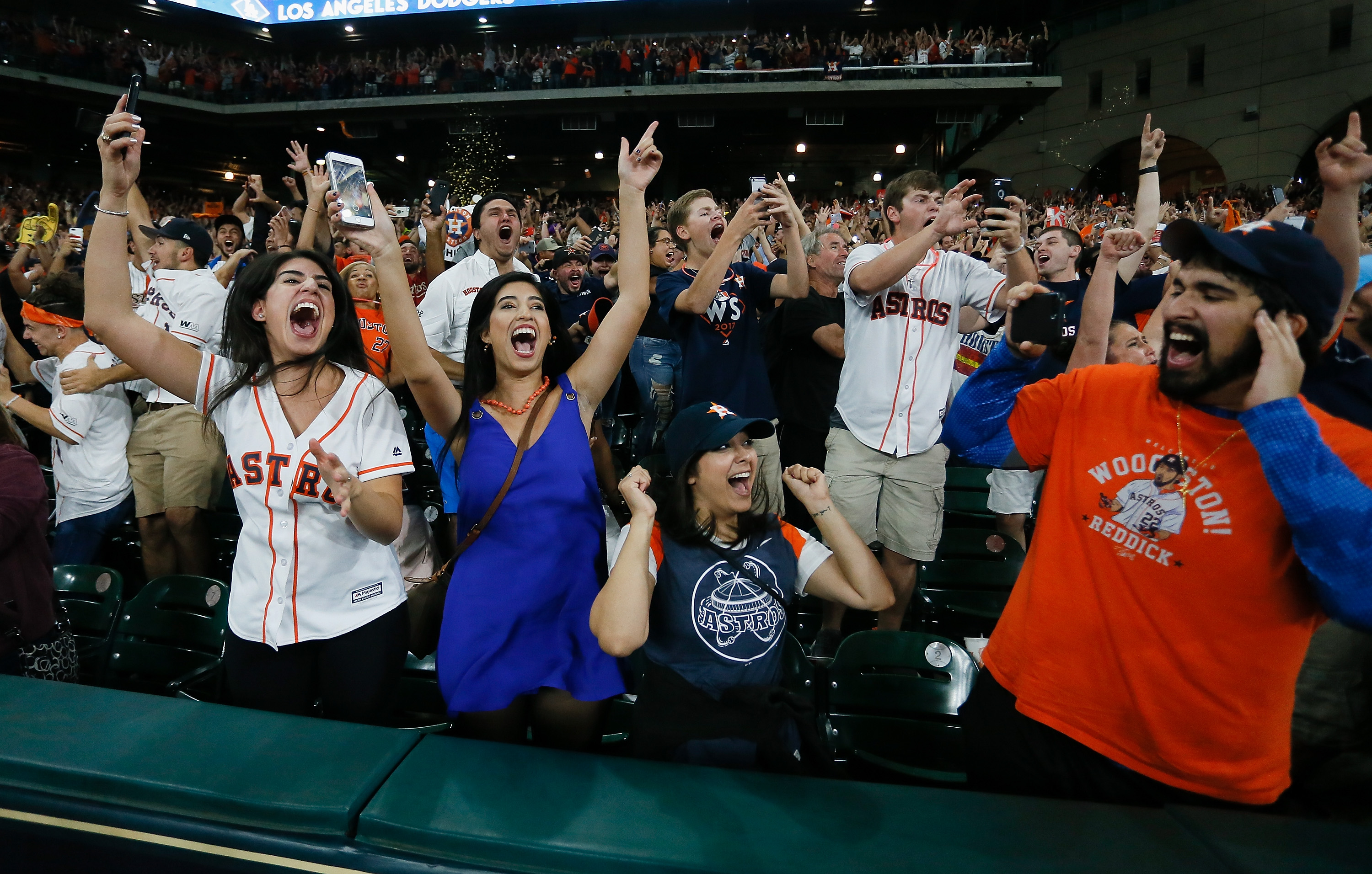 After Months of Devastation, the Astros' World Series Win Was an Ecstatic Night for Houston