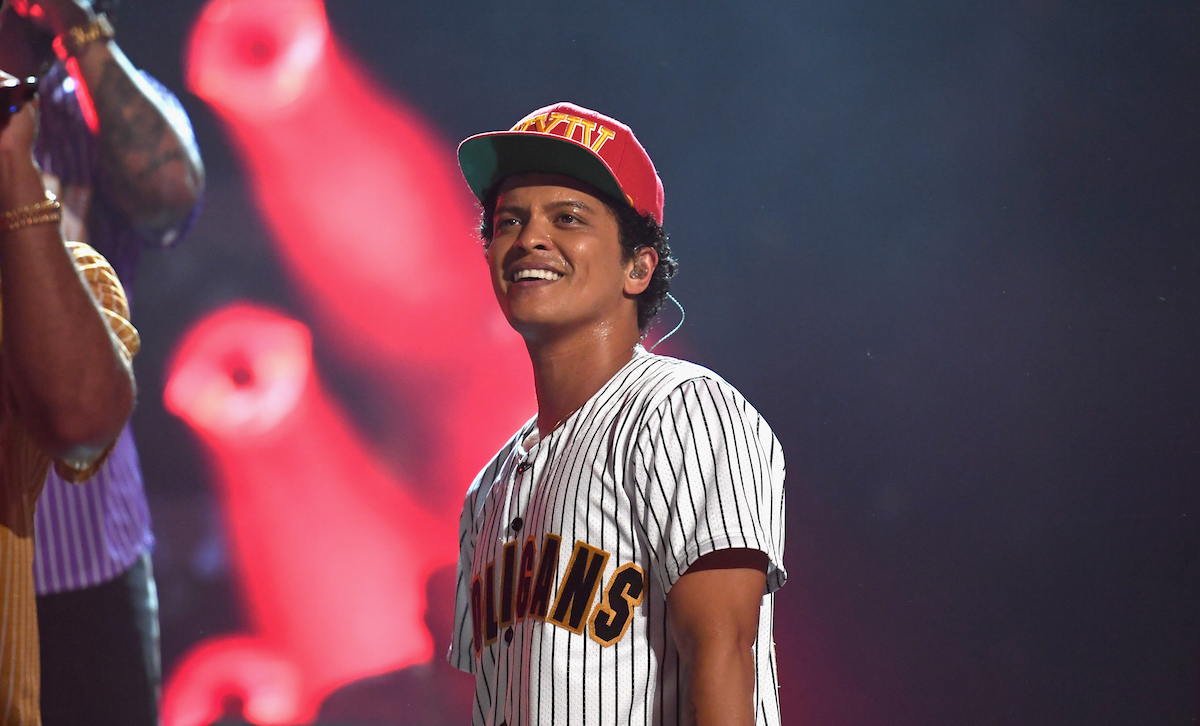 Bruno Mars Is Being Sued for Posting This Adorable 1989 Picture of Himself