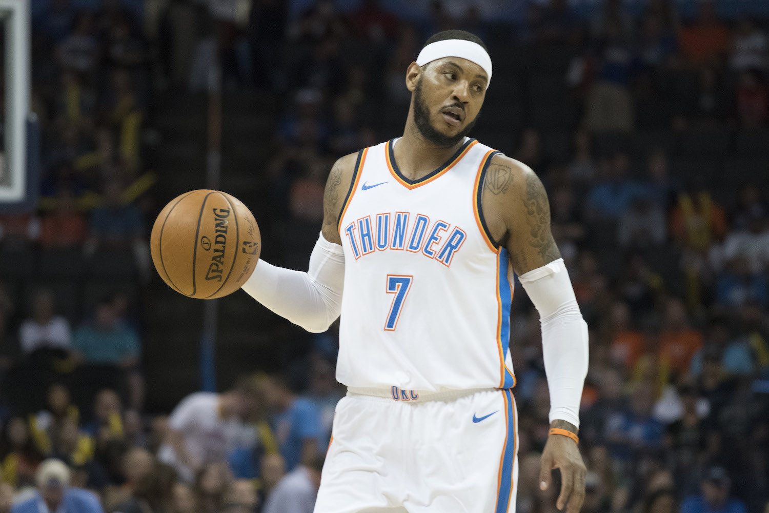 Carmelo Anthony Just Discovered His Puerto Rican Dad Has South American Roots