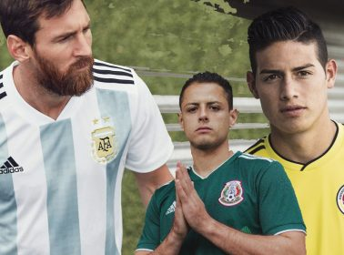 The World Cup 2018 Jerseys for Mexico, Colombia & Argentina Are a Nostalgic Delight
