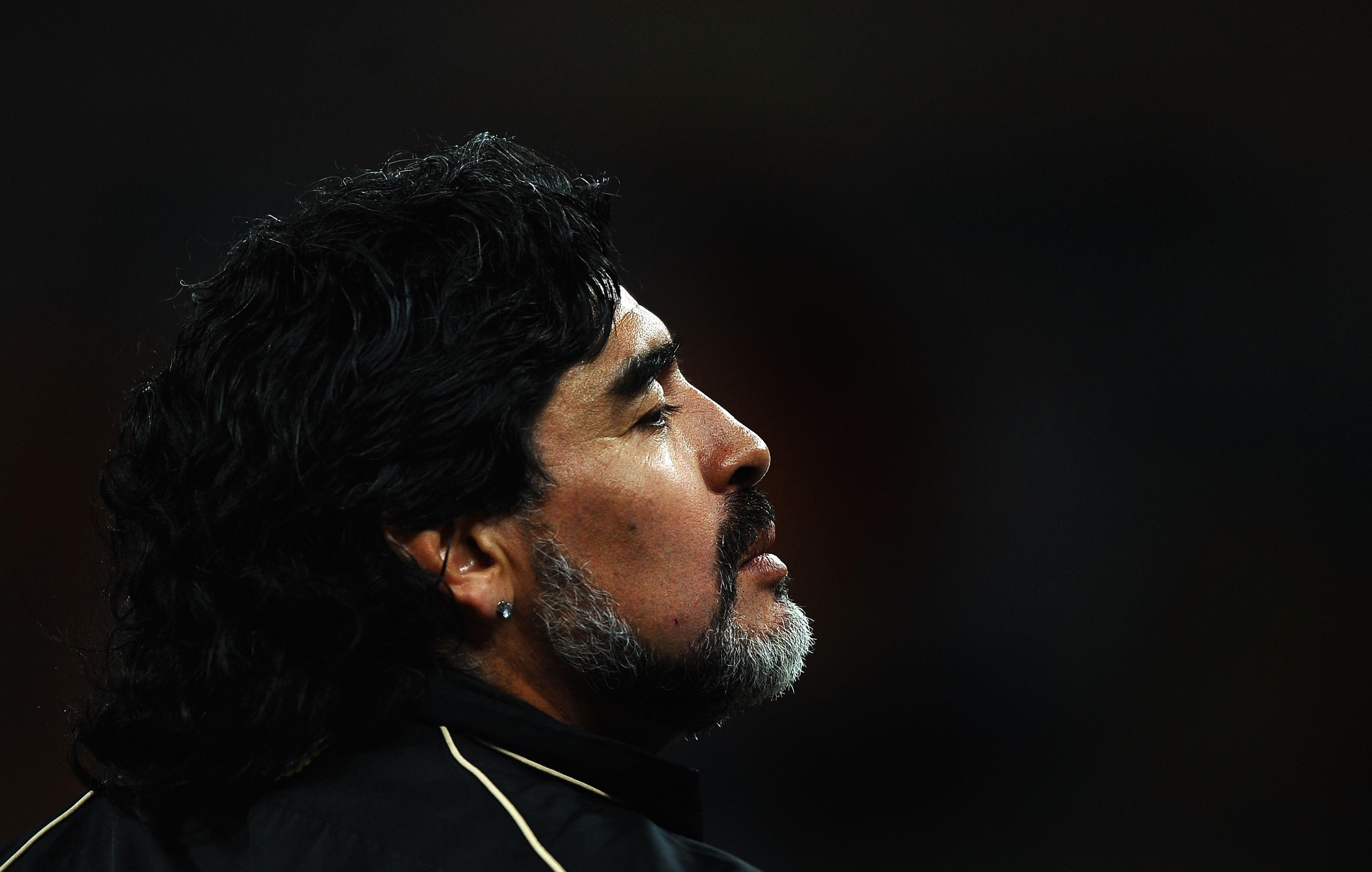 Maradona Cozies Up to Nicolás Maduro Again, Will Call World Cup for Venezuelan TV