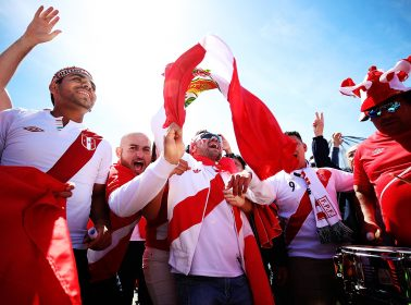 Peruvians Celebrate Winning FIFA's Best Fan Award by Being the World's Best Fans