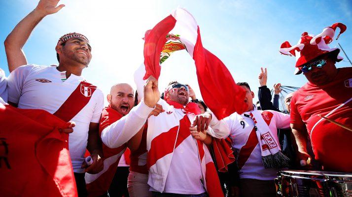 Peruvians Celebrate Winning FIFA's Best Fan Award by Being the World's Best Fans