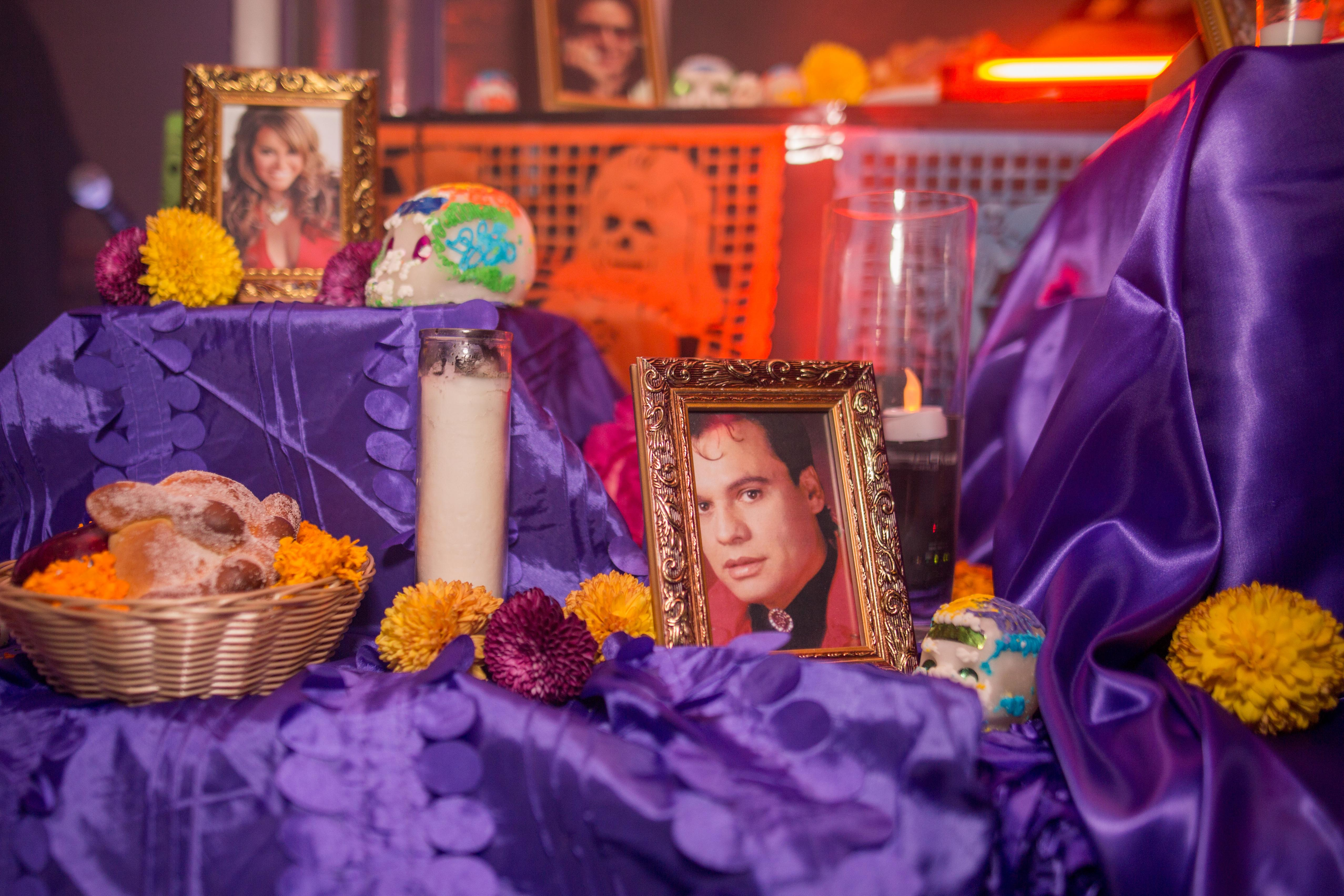 PHOTOS: Riobamba, Santa Muerte, and DJ Python Take Over Remezcla HQ for a Día de Muertos Throwdown