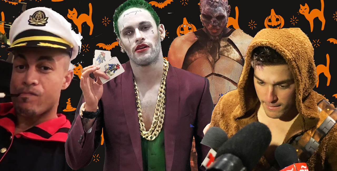 From Neymar's Joker to Melo's Night King, These 10 Costumes Won Sports Halloween 2017