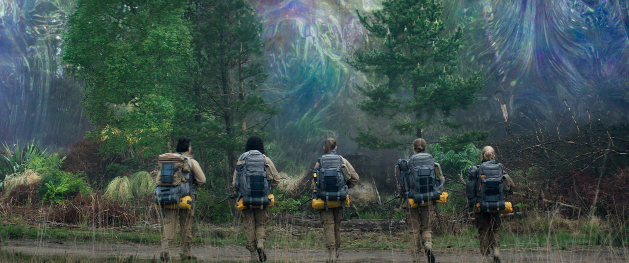 We Get More Oscar Isaac, Gina Rodriguez & Tessa Thompson in Terrifying New 'Annihilation' Trailer