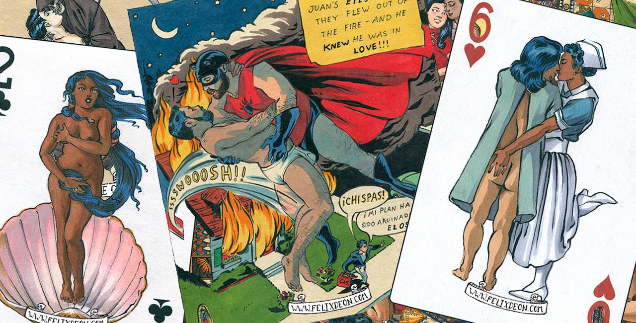 Queer Artist Felix D'Eon's Illustrations Are Beautiful Depictions of LGBTQ Love