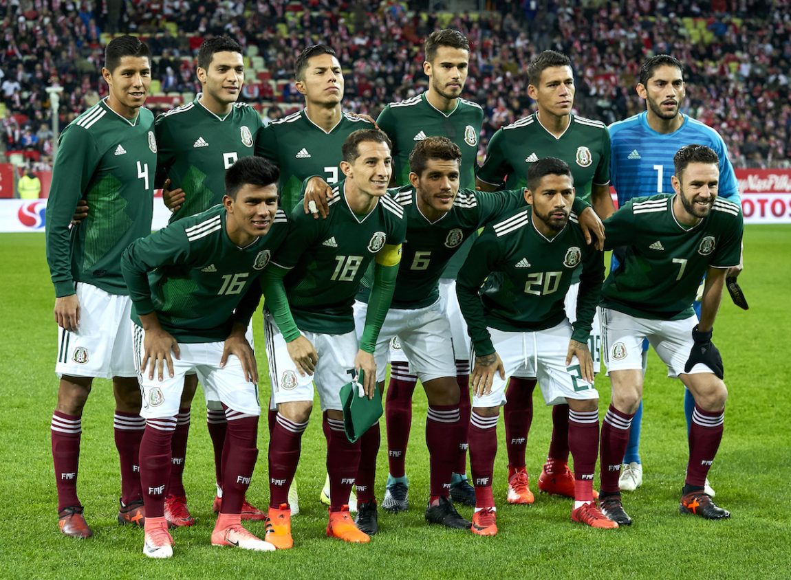 f5f6e9e56 The Mexico National Team poses during the International Friendly match  between Poland and Mexico at Energa Arena Stadium on November 13, 2017 in  Gdansk, ...