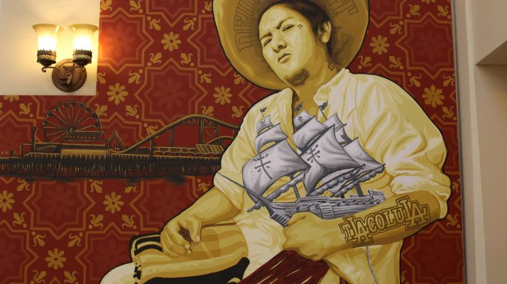 On the Walls of the LA Public Library, Zapotec Artists Tell the Story of Oaxacalifornia