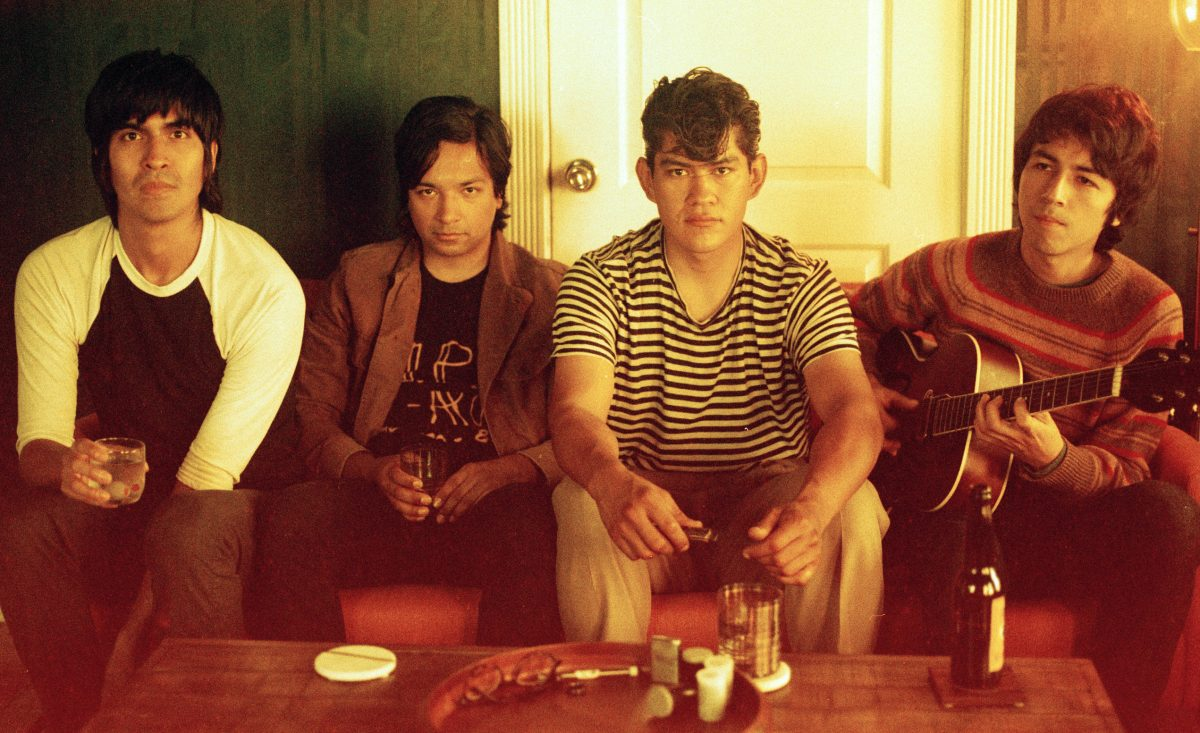 "If You Need a Pick-Me-Up, Check Out The Tracks' Garage Rock Blast ""Hanging On"""