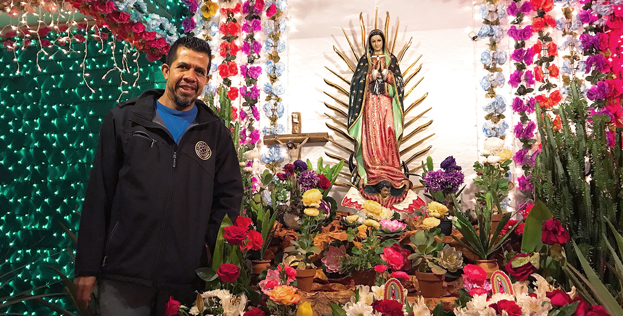 Every December, This House Transforms Into an Eye-Popping Shrine to La Virgen de Guadalupe